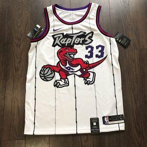 Nike Shirts - Nike Toronto Raptors Marc Gasol Basketball Jersey